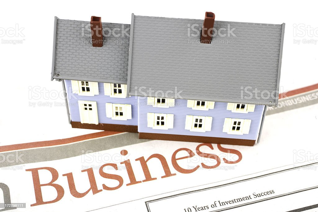 Real estate business royalty-free stock photo