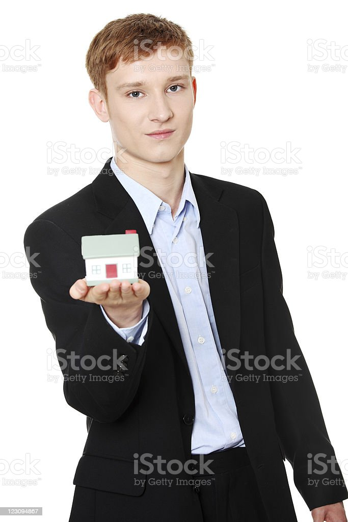 Real estate concept stock photo