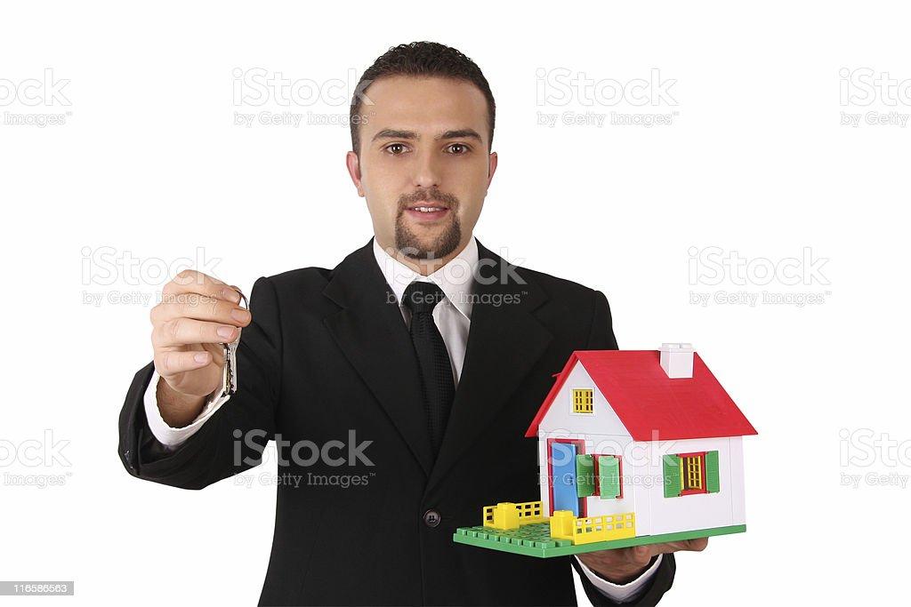Real Estate Dealer royalty-free stock photo