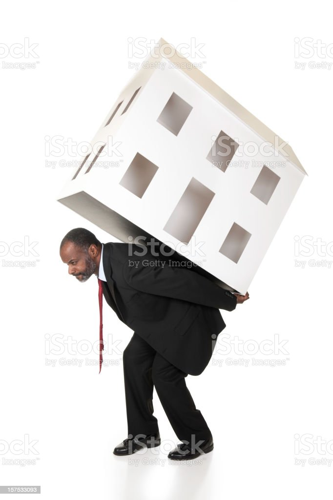 Real Estate Debt Burden Concept royalty-free stock photo
