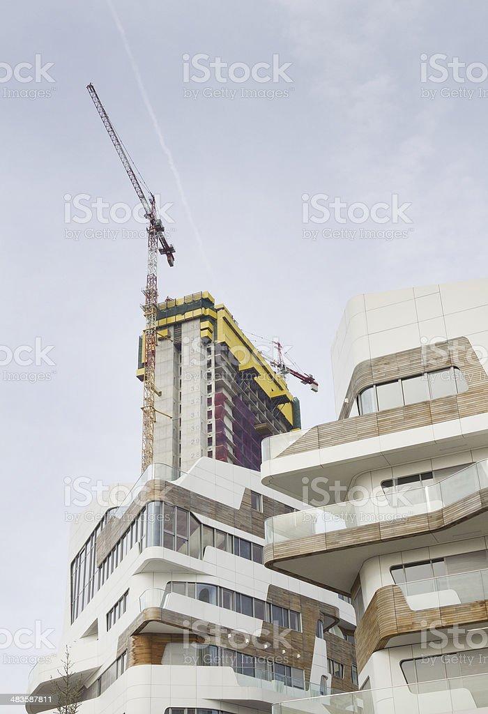 Real Estate development royalty-free stock photo