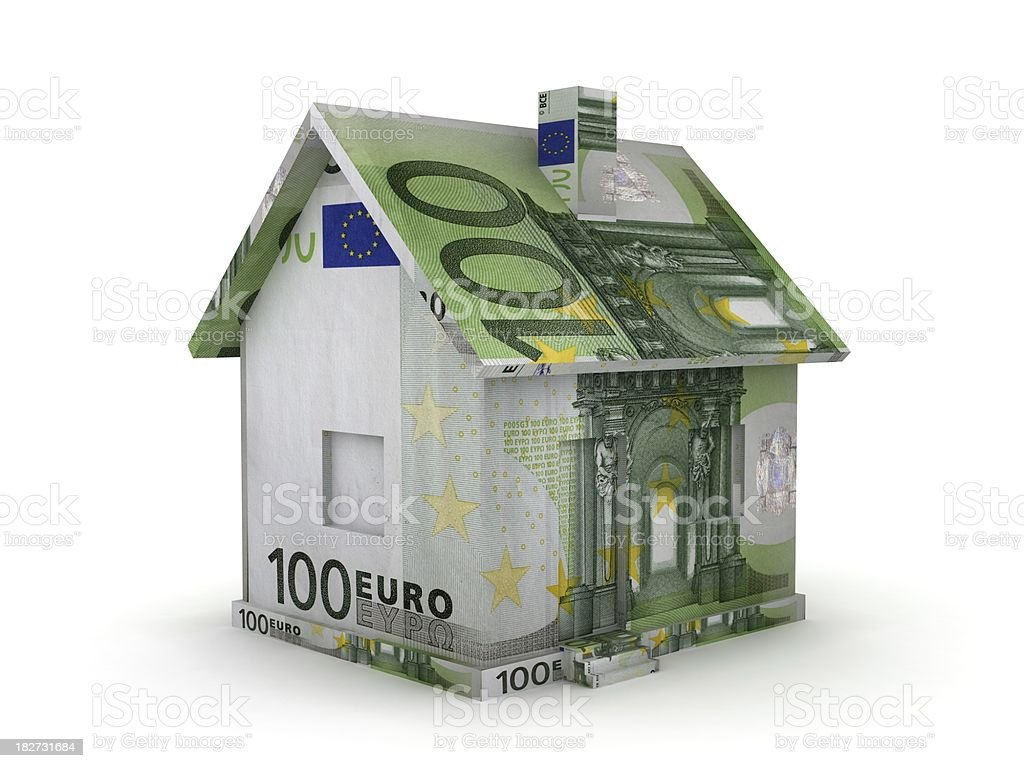 Real Estate - Euro royalty-free stock photo
