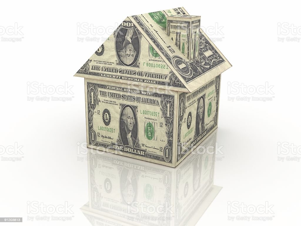 Real Estate Finance royalty-free stock photo