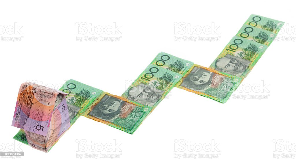 Real estate growth in Australia. royalty-free stock photo