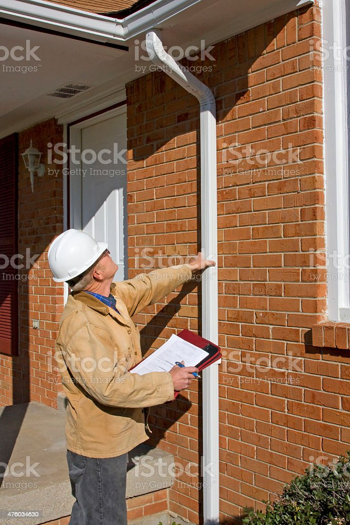 Real Estate Home Inspector stock photo