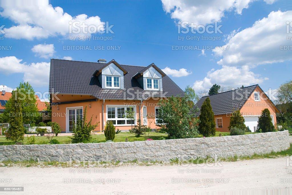 real estate home suburb villa stock photo