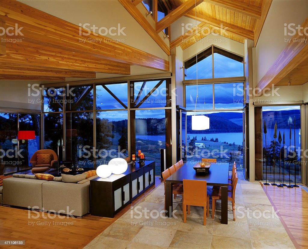 real estate house interior design royalty-free stock photo