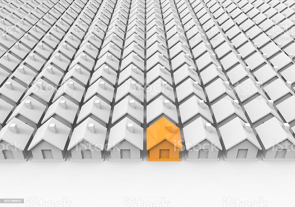 Real Estate House Market stock photo