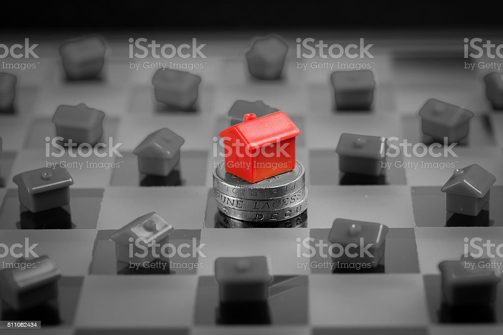 Real estate , house & property market stock photo