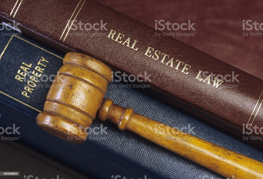Real Estate Law stock photo