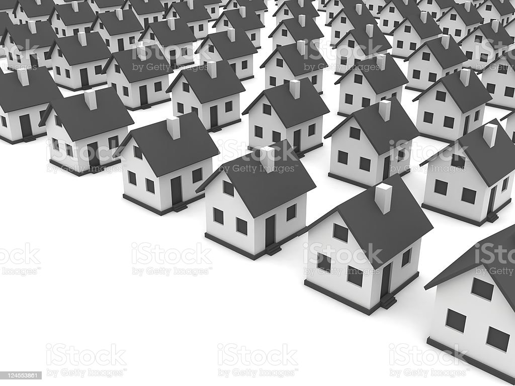 Real Estate Market Concept royalty-free stock photo
