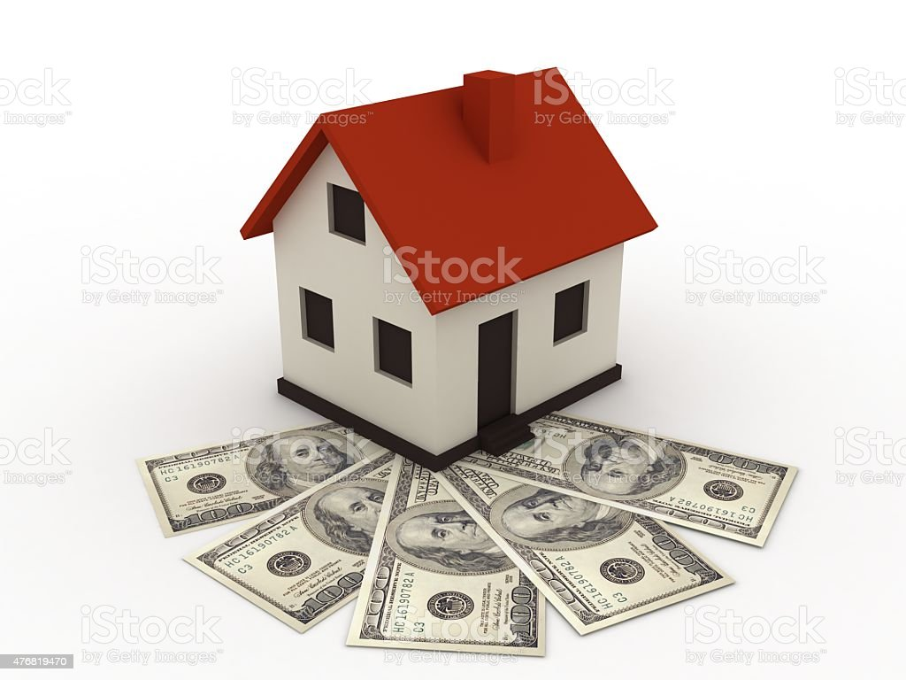 Real estate mortgage stock photo