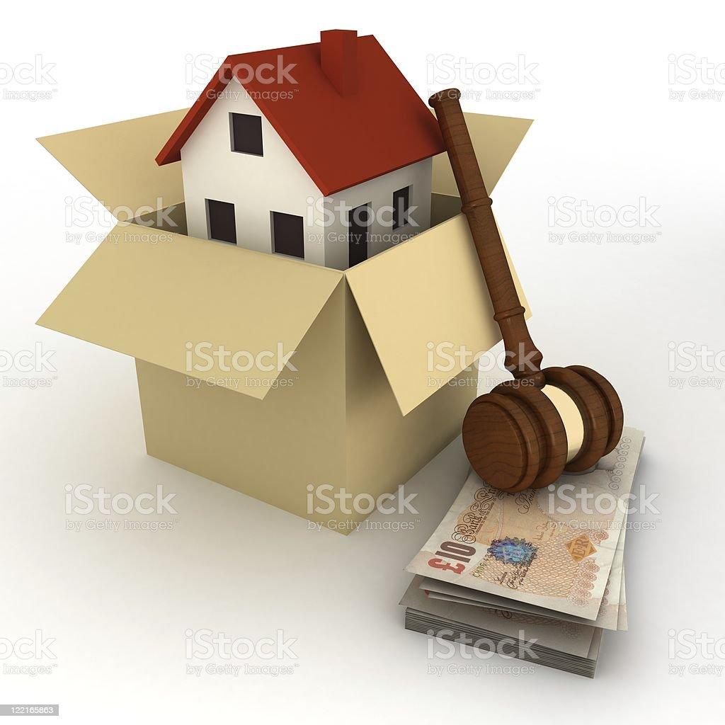 UK Real Estate royalty-free stock photo