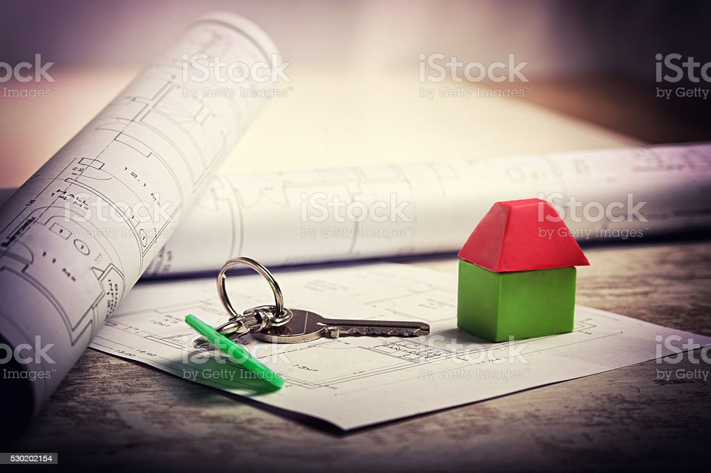 immobilier stock photo