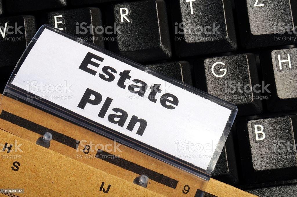 real estate plan stock photo