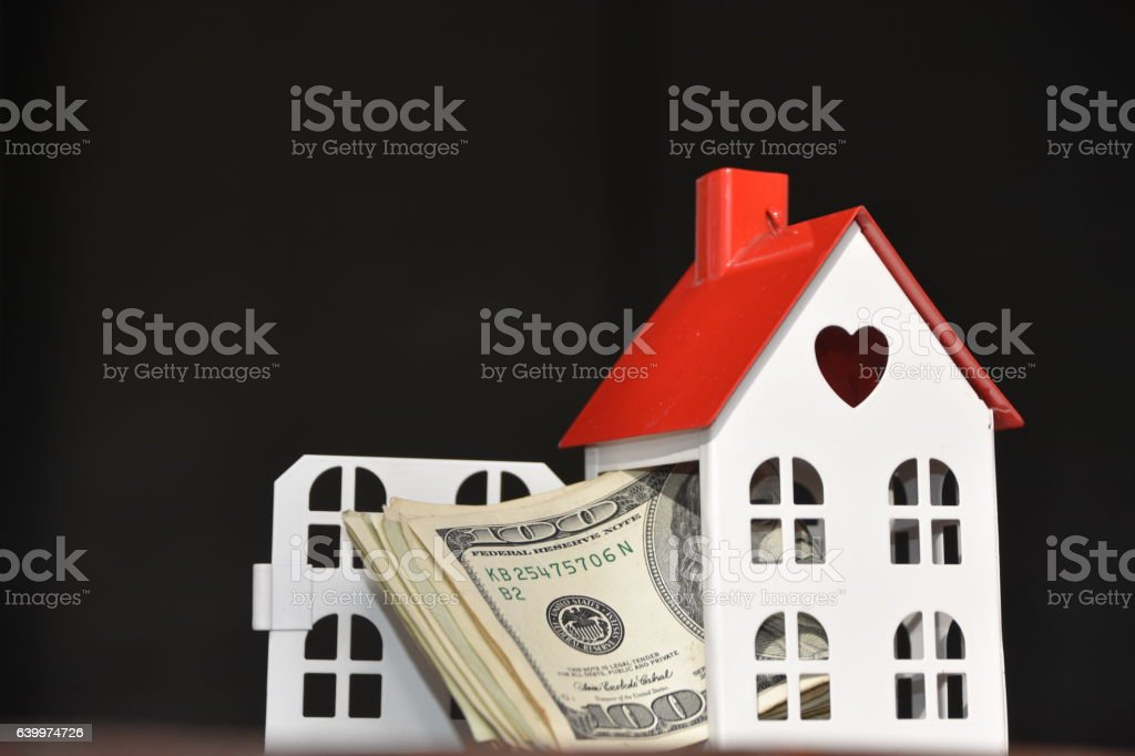Real estate price Concept stock photo