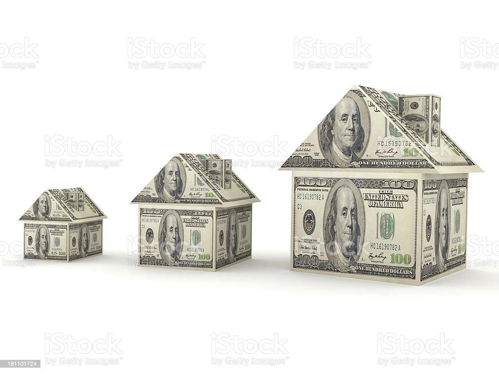Real Estate Prices royalty-free stock photo