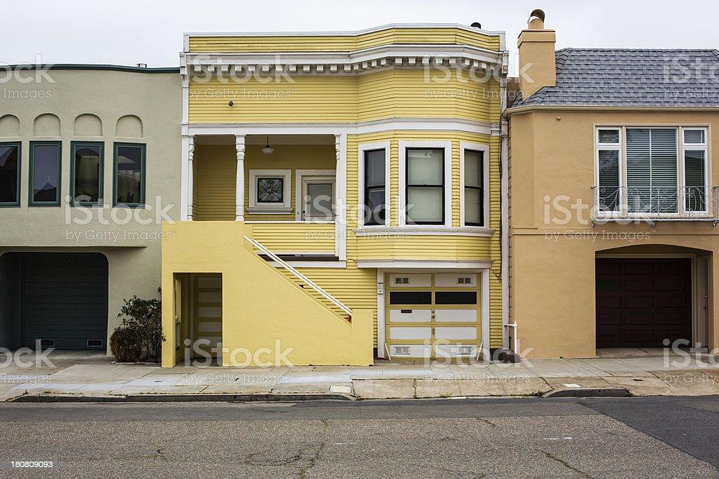 Real estate property in San Francisco, California royalty-free stock photo