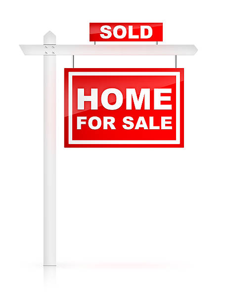 For Sale Sold Sign: Real Estate Sign Pictures, Images And Stock Photos