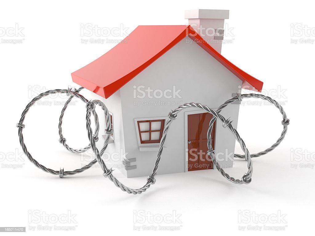 Real estate trap royalty-free stock photo
