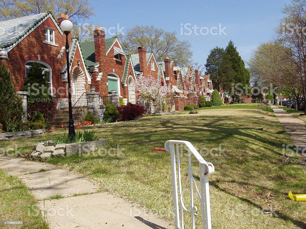 Real Estate - Urban Housing royalty-free stock photo