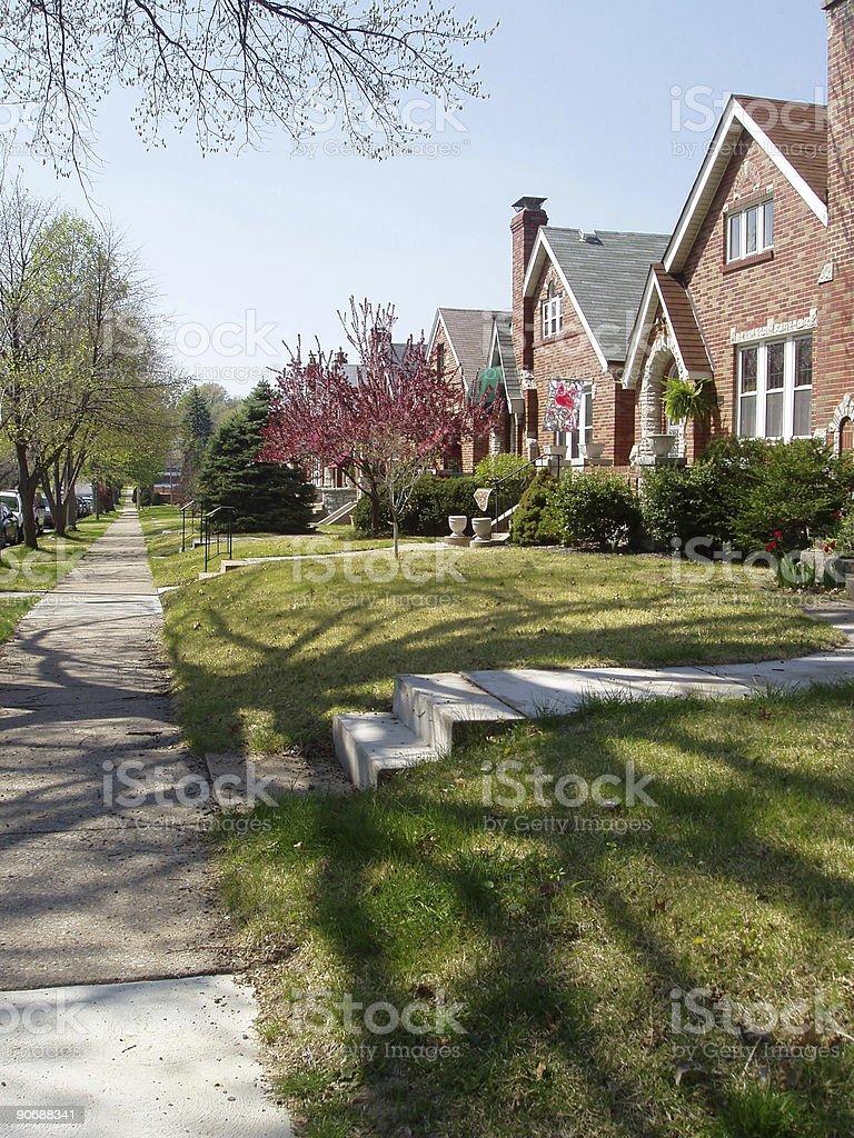 Real Estate - Urban Living royalty-free stock photo
