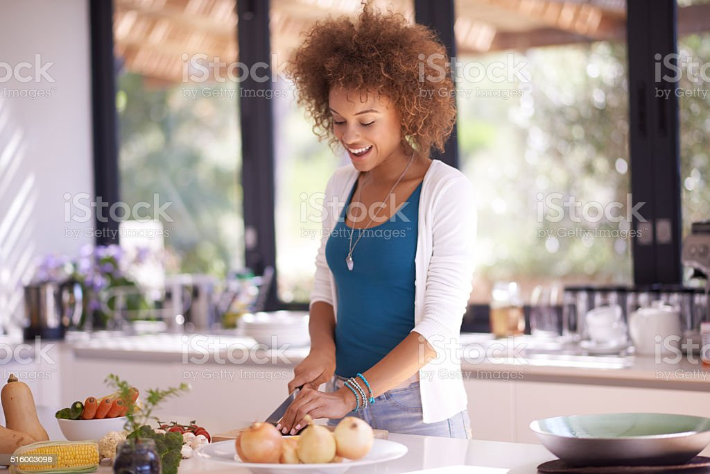 Real food doesn't have ingredients, real food is ingredients stock photo