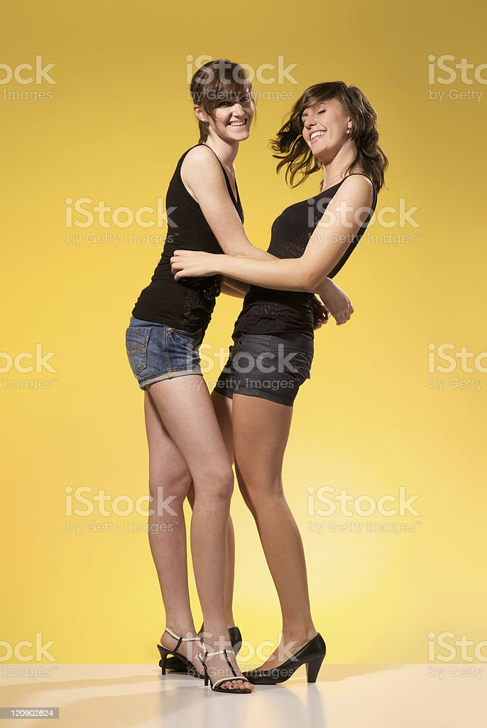 real friendship royalty-free stock photo