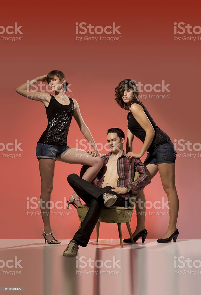 real friendship stock photo