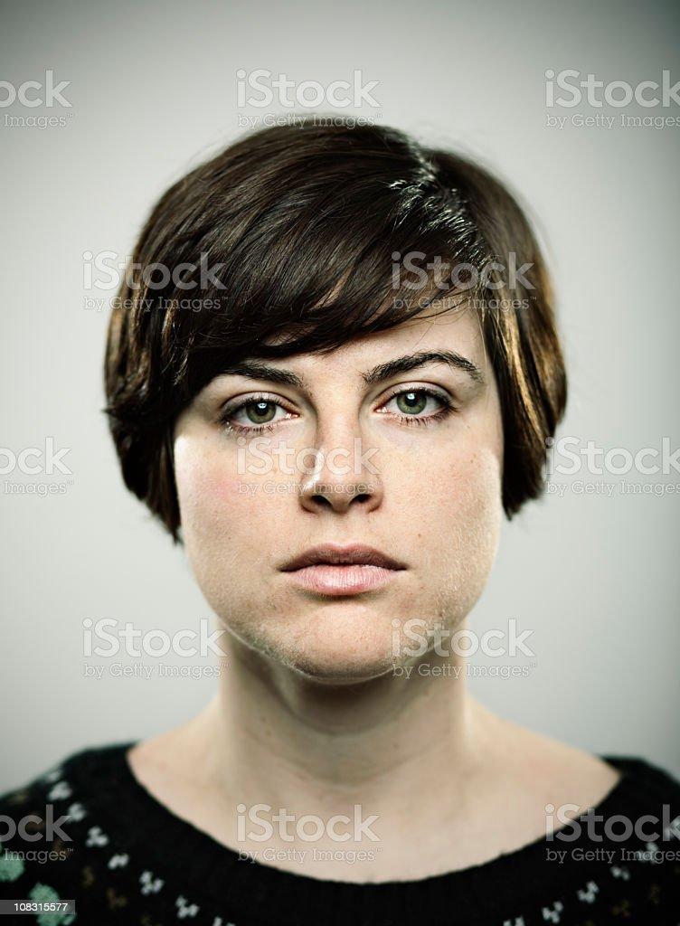 Real girl royalty-free stock photo