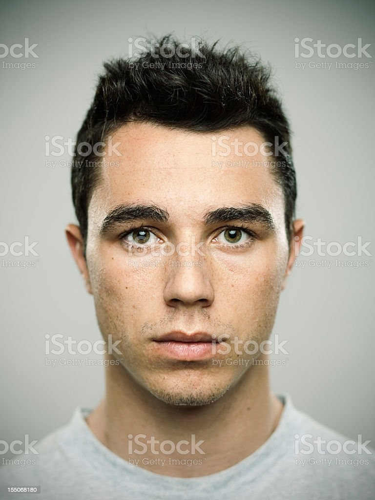 Real guy stock photo