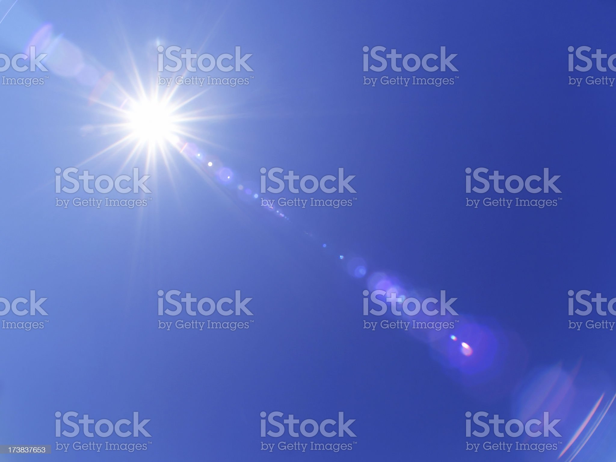 Real lensflare royalty-free stock photo
