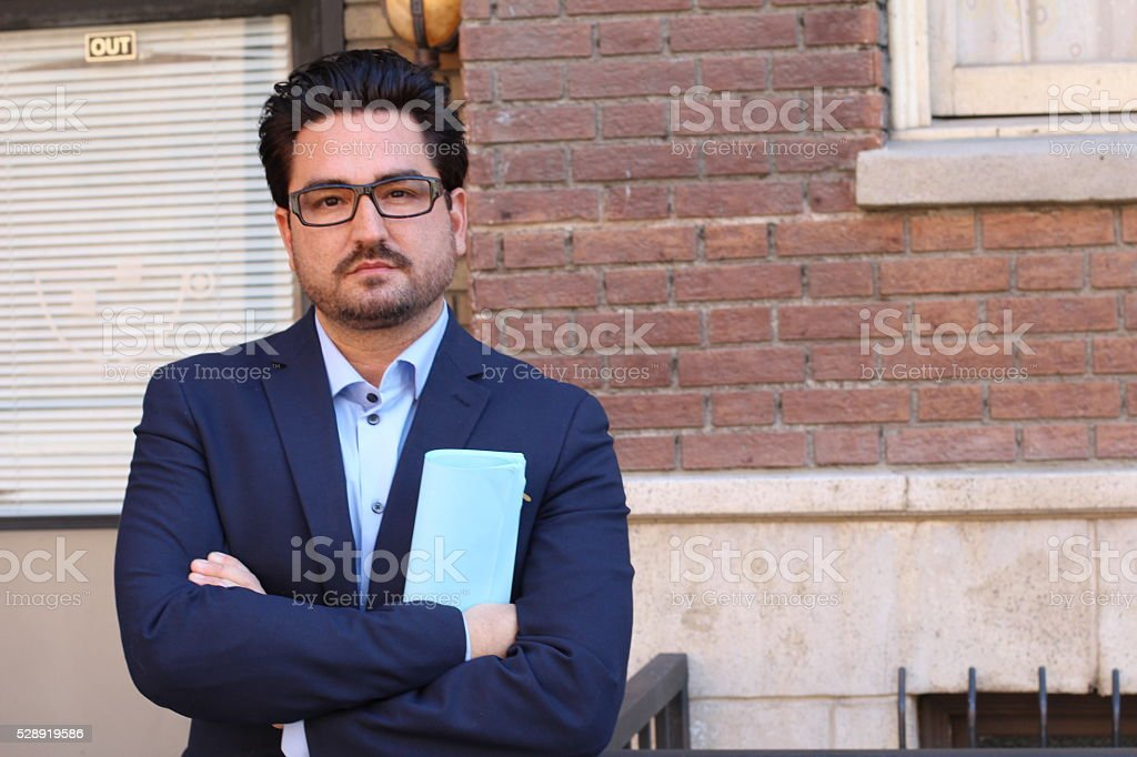 Real Looking Business Professional Business Man stock photo
