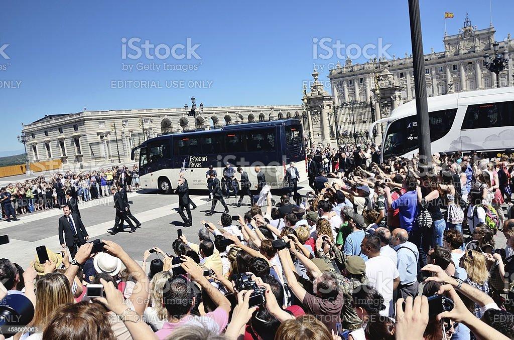 Real Madrid C.F. royalty-free stock photo