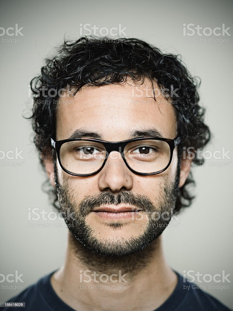 Real man. royalty-free stock photo