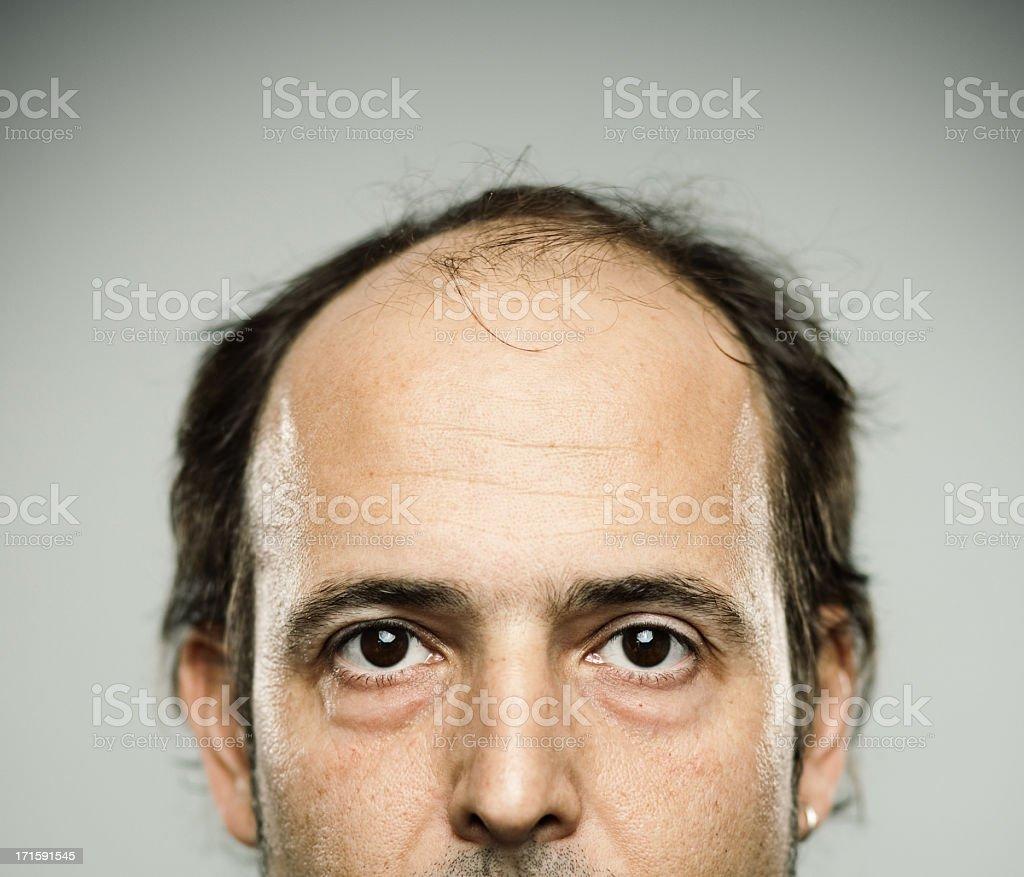 Real man. stock photo