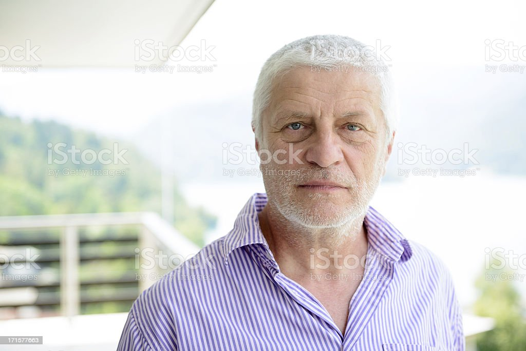 Real Man Portrait royalty-free stock photo