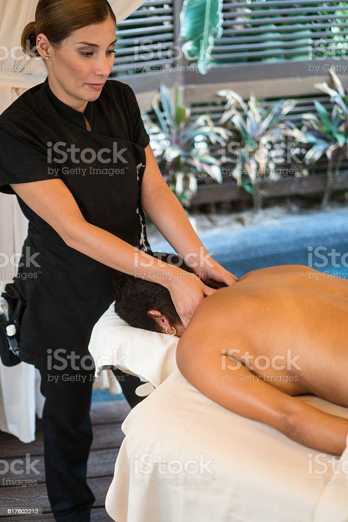 Real Massage - Professional stock photo