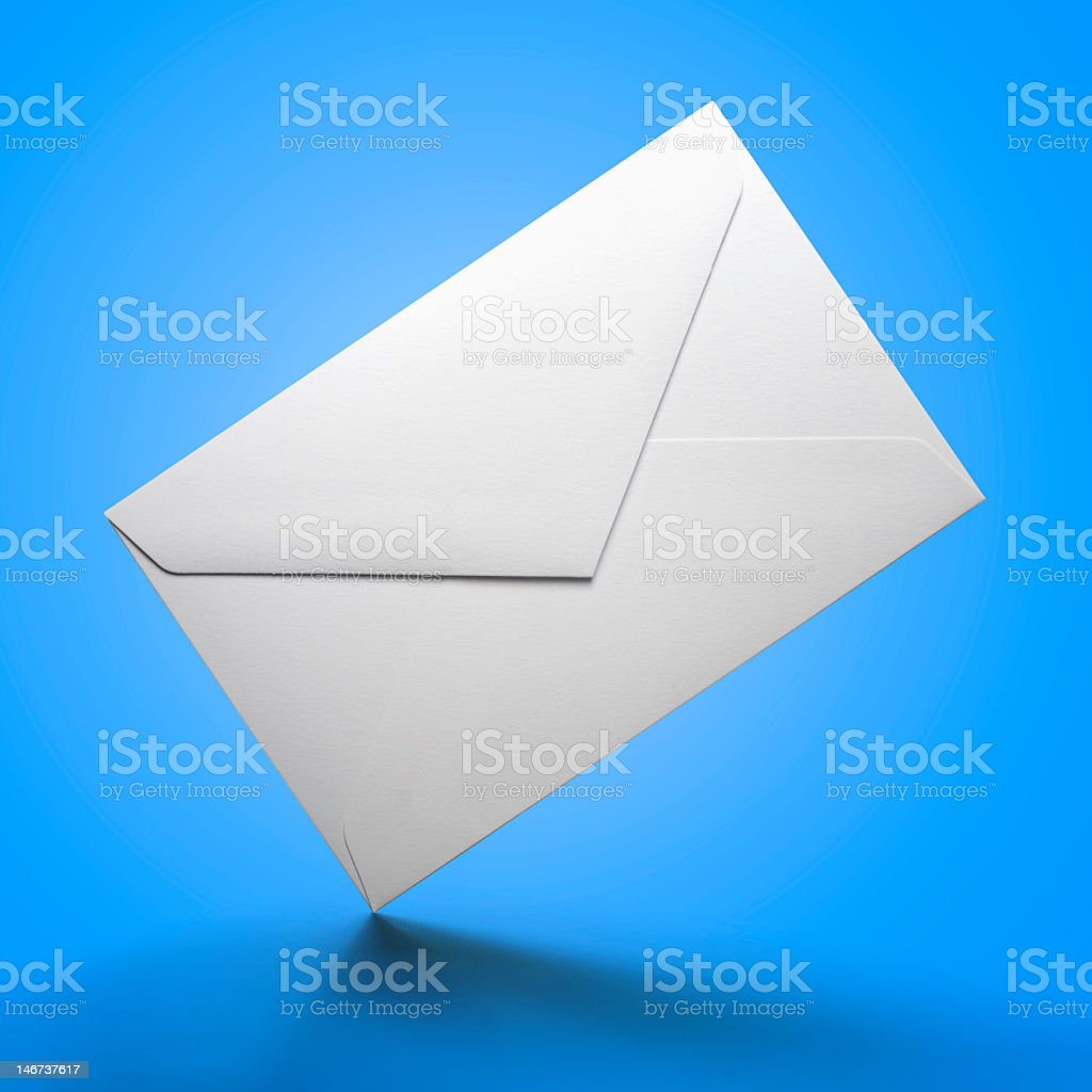 Real Paper Envelope. High resolution. royalty-free stock photo