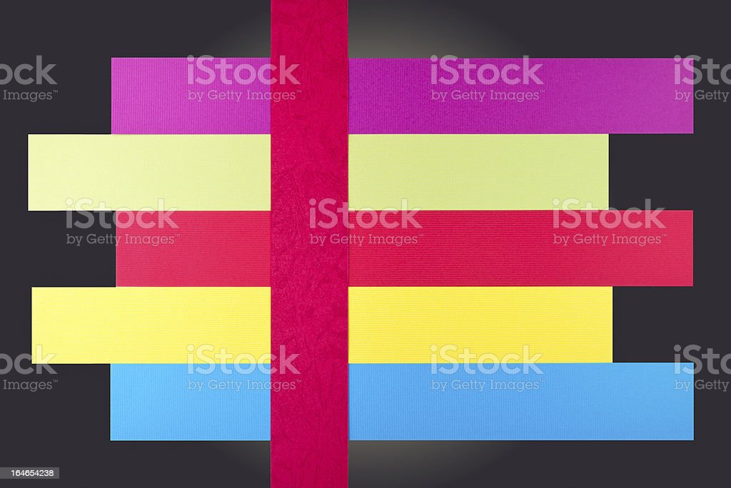 Real paper for infographics background royalty-free stock photo