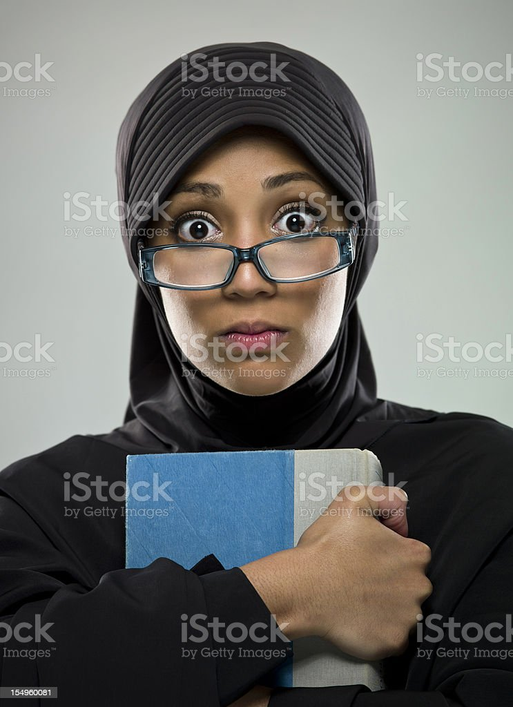 Real People: Muslim Young Woman royalty-free stock photo