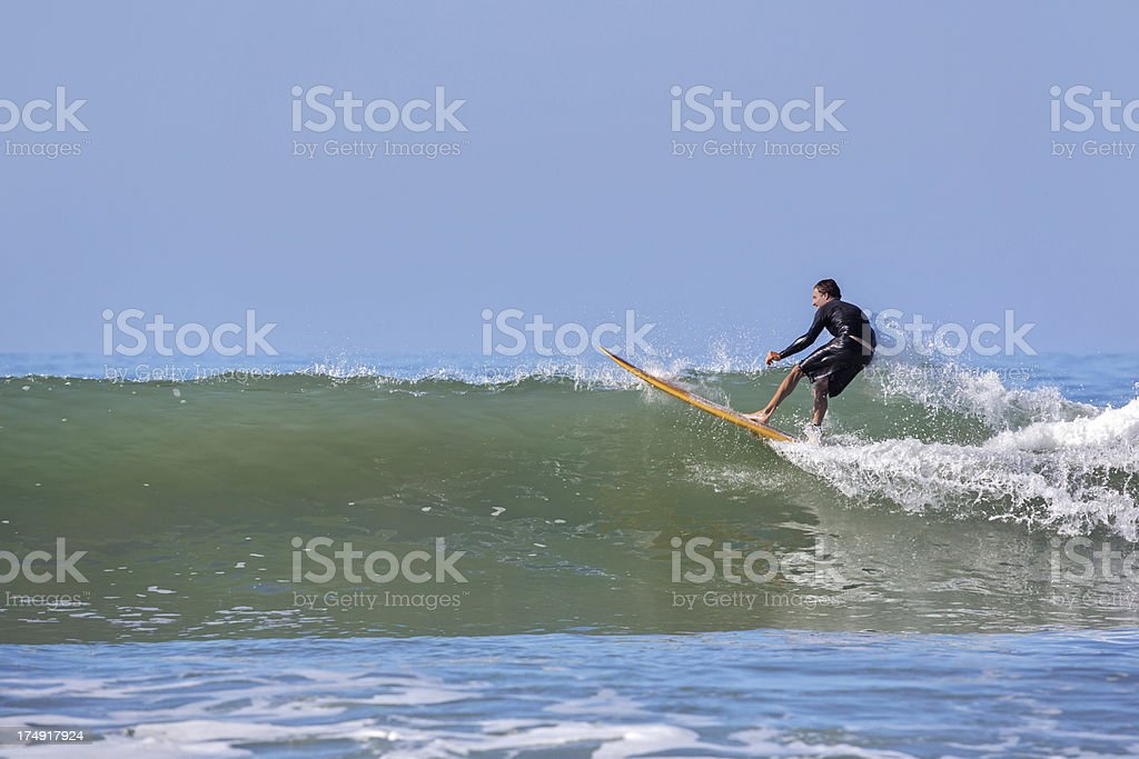 Real People: Surfers royalty-free stock photo