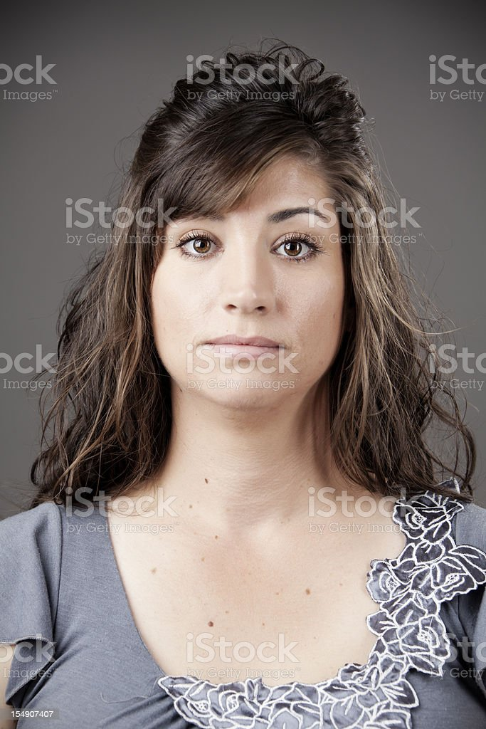 Real people: woman in her 30s stock photo