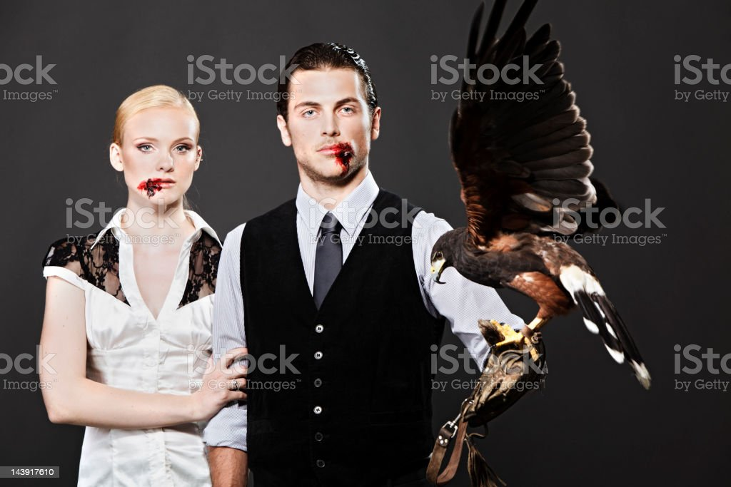 Real Predator royalty-free stock photo