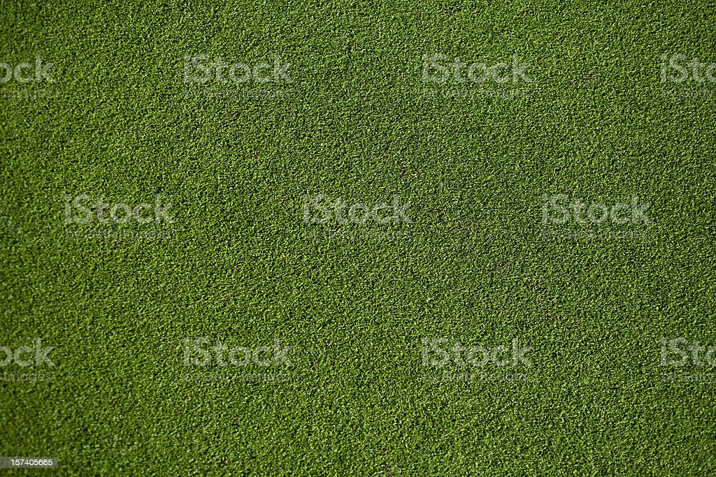 Real Putting Green stock photo