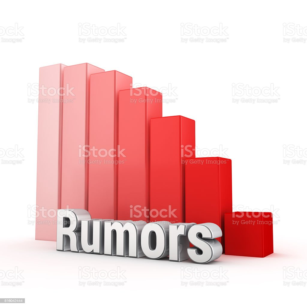 Real rumors about you stock photo