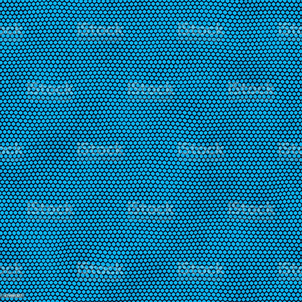Real Seamless Abstract Background with Blue Dots royalty-free stock vector art