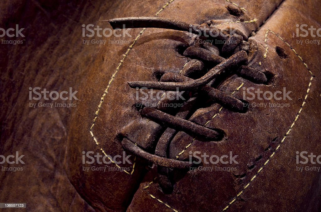Real Sporting Leather royalty-free stock photo