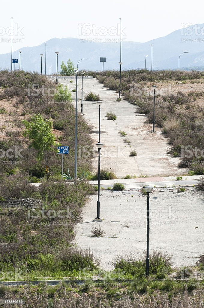real state Crisis stock photo