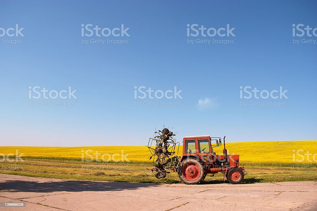 real traction engine royalty-free stock photo